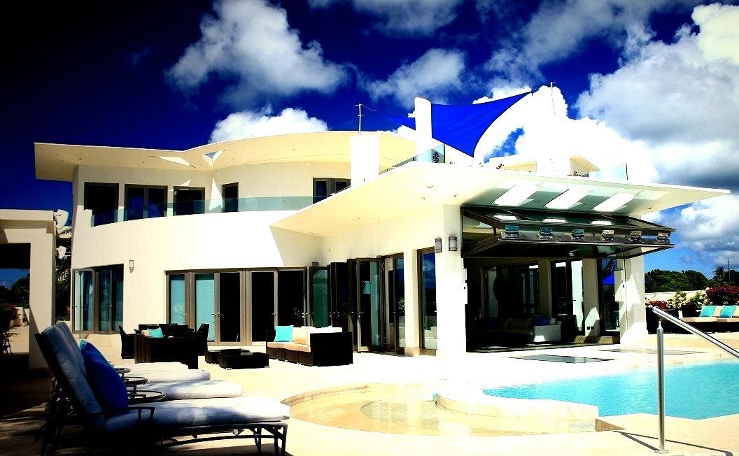 Villas, Architecture, Travel, Caribbean, Anguilla