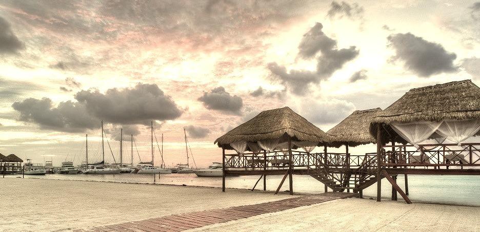 Playa Del Carmen, Resorts, Mexico, Architecture, Travel