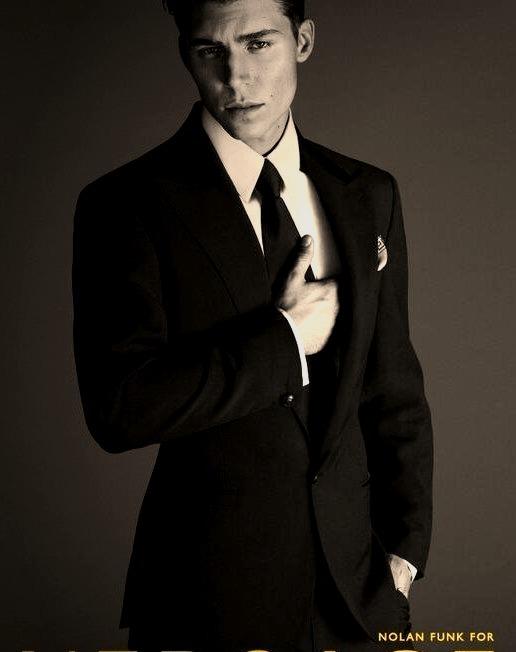 Nolan Funk For Versace