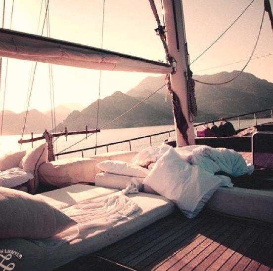 Sea, Open Sea, Beautiful View, Sea Side, Nap Time