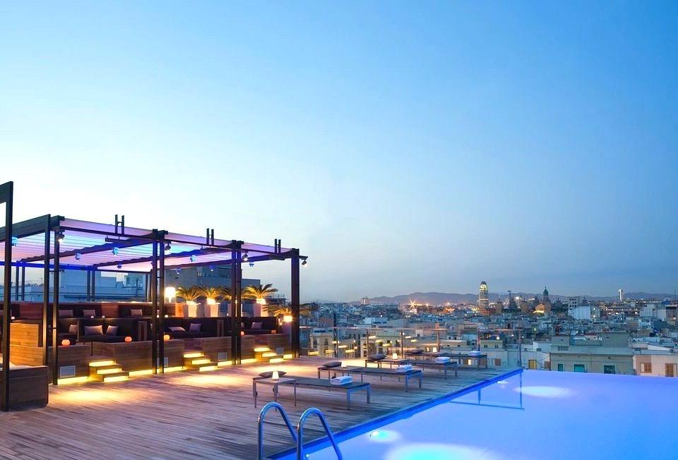 Sky Bar in Barcelona